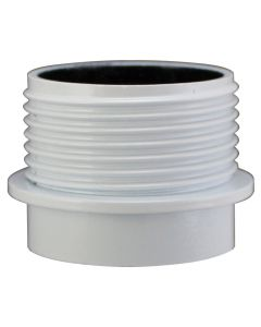 VLM E27 Half Thread Skirt Only, for 3-Piece Phenolic Socket - White