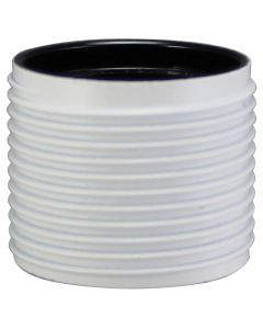 VLM E27 Full Thread Skirt Only, for 3-Piece Phenolic Socket - White