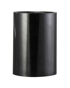 VLM E14 Smooth Skirt Only, for 3-Piece Bakelite Socket - Black