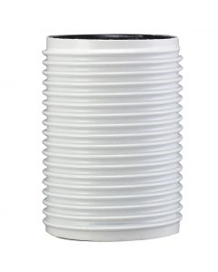 VLM E14 Full Thread Skirt Only, for 3-Piece Bakelite Socket - White