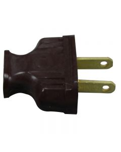 Antique Style Attachment Plug - Brown