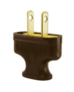 Antique Style Attachment Plug - Brown