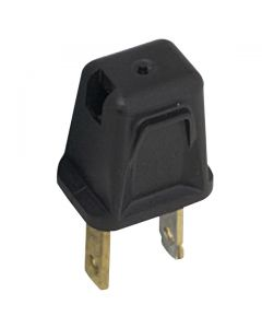 Leviton 1-2-3 Plug - Brown