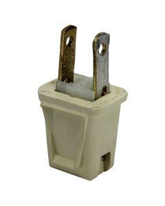 Leviton 1-2-3 Plug - Ivory