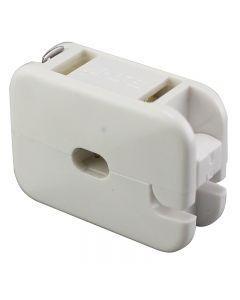 Add-A-Tap Non-Polarized Outlet - White