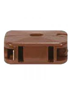 Add-A-Tap Non-Polarized Outlet - Brown