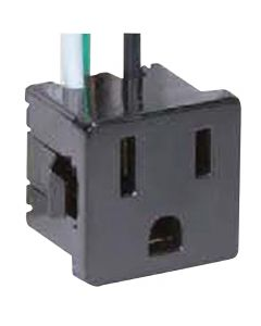 Convenience Outlet - Black