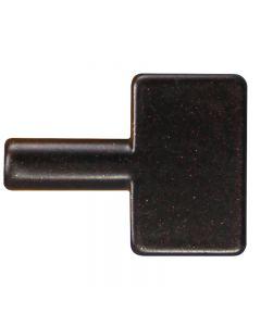 Oversized Brass Key Knob for Turn Sockets - Bronze