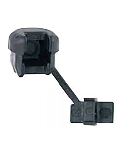 """Strain Relief Bushing - Black, 1/2"""" Hole Size, For SPT-2 Wire"""