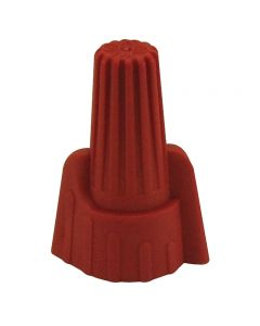 Wing Nut Wire Connectors With Spring Insert - Red