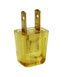 Academy Style SPT-2 Quick-Wire Plug - Polarized, Clear Gold