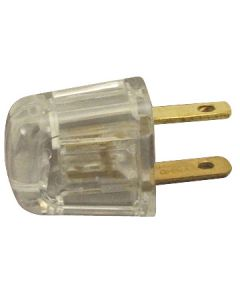 Academy Style SPT-1 Quick-Wire Plug - Non-Polarized, Clear