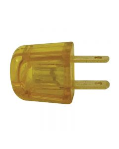 Academy Style SPT-1 Quick-Wire Plug - Non-Polarized, Clear Gold