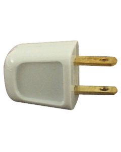 Academy Style SPT-1 Quick-Wire Plug - Non-Polarized - White
