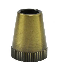 Metal SVT Cord Grip - Antique Brass