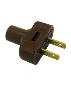 Leviton Attachment Plug - Brown