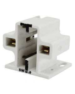 Leviton #26729 200 - CFL Socket - 13 WT - 2-Pin - Horizontal Mount