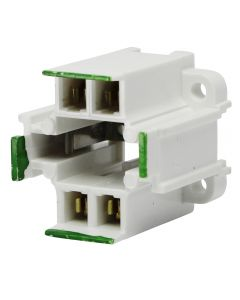 Leviton #26725-411 - CFL Socket - 18 WT - 4-Pin - Vertical Mount
