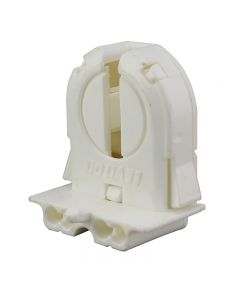 Leviton T8 Medium Bi-Pin (G13 Base) Extra Low - Snap-In or Slide On, Not Shunted, Extra Low Ht