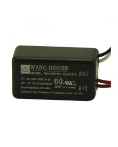 12 Volt Dimmable Electronic Transformer - 60 Watt