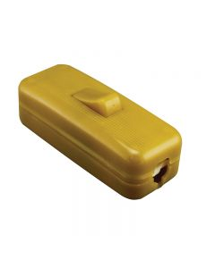 VLM Toggle On/Off In-Line Cord Switch - Gold
