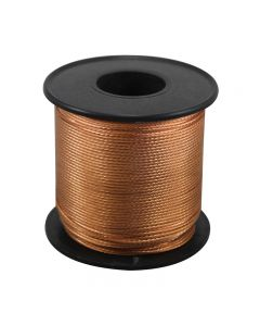 Bare Copper Braided Grounding Wire 250 Foot Spool - Copper