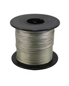 Bare Copper Braided Grounding Wire 250 Foot Spool - Tinned