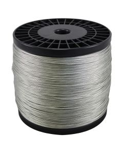Bare Copper Braided Grounding Wire 2500 Foot Spool - Tinned