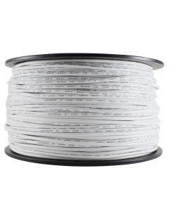 #18 Insulated Single Wire - 500 FT Spool - White