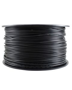 #18 Insulated Single Wire - 500 FT Spool - Black