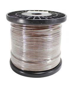 Single Conductor Rayon Covered Wire - Brown