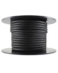 Rayon Covered SPT-1 Wire - 100 FT Spool - Black