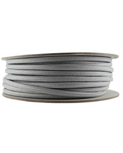 Rayon Covered SPT-1 Wire - 100 FT Spool - Satin Nickel