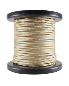 Rayon Covered SPT-1 Wire - 100 FT Spool - Camel