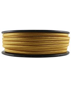 Rayon Covered SPT-2 Wire - 100 FT Spool - Gold