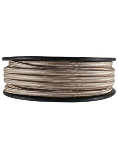 Rayon Covered SPT-2 Wire - 100 FT Spool - Champagne