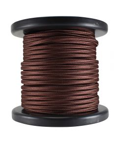 Rayon Covered SPT-2 Wire - 100 FT Spool - Bronze
