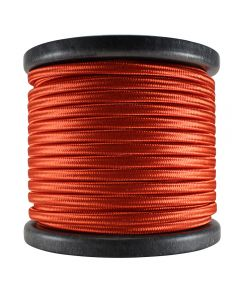 Rayon Covered SPT-2 Wire - 100 FT Spool - Red