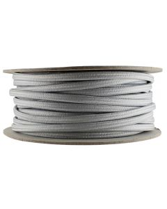 Rayon Covered SPT-2 Wire - 100 FT Spool - Satin Nickel