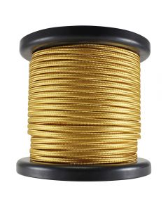 Antique Style Rayon Covered Wire - 100 FT Spool - Gold