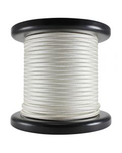 Antique Style Rayon Covered Wire - 100 FT Spool - Cream