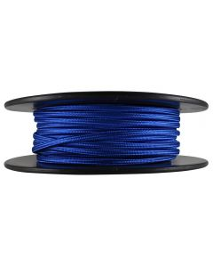 Antique Style Rayon Covered Wire - 100 FT Spool - Blue