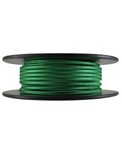 Antique Style Rayon Covered Wire - 100 FT Spool - Green