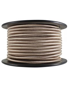 Rayon Covered SVT/2 Wire - 100 FT Spool - Champagne