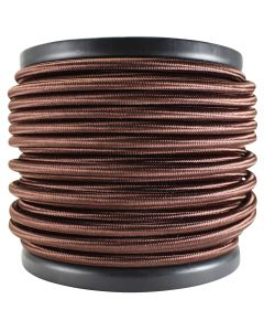 Rayon Covered SVT/2 Wire - 100 FT Spool - Bronze