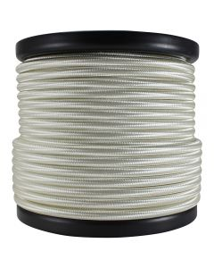 Rayon Covered SVT/2 Wire - 100 FT Spool - Cream