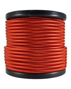 Rayon Covered SVT/2 Wire - 100 FT Spool - Red
