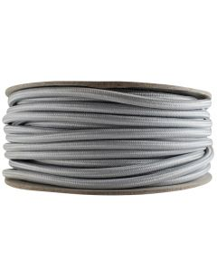 Rayon Covered SVT/2 Wire - 100 FT Spool - Satin Nickel