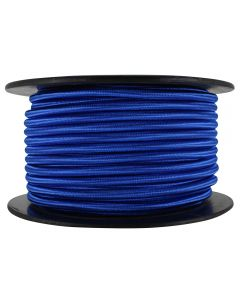 Rayon Covered SVT/2 Wire - 100 FT Spool - Blue