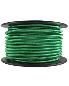 Rayon Covered SVT/2 Wire - 100 FT Spool - Green